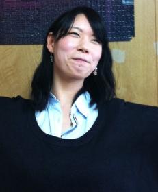 2013年度体育会幹事長(所属:競技ダンス部)尾方奈緒美(文学部)(石原写す)
