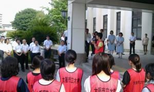 学生代表 小路弘晃さん