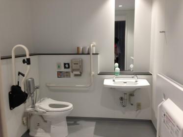 堂々の1位を獲得した共通研究棟 1F 多目的トイレ