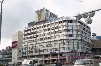 神戸交通センタービル(被災時)