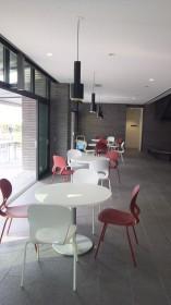新学舎休憩スペース
