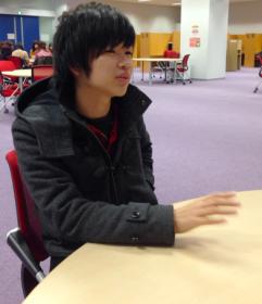 2014年 音楽系サークル協議会委員長の正原恭吾さん