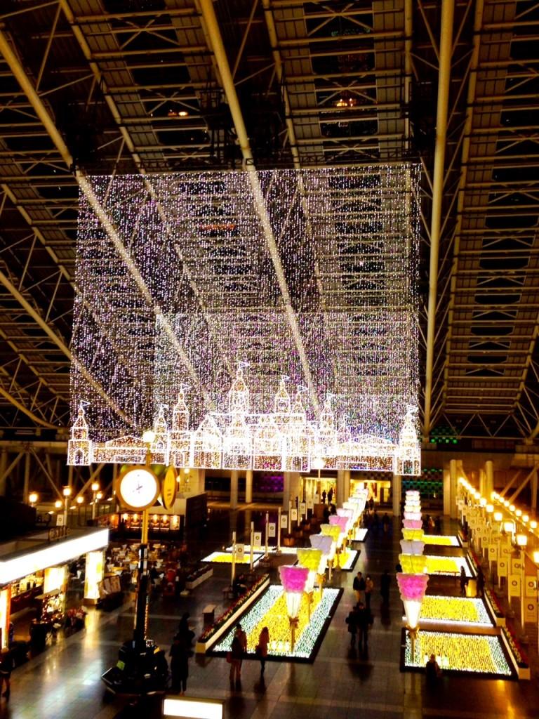 JR大阪駅時の広場 Twilight Fantasy